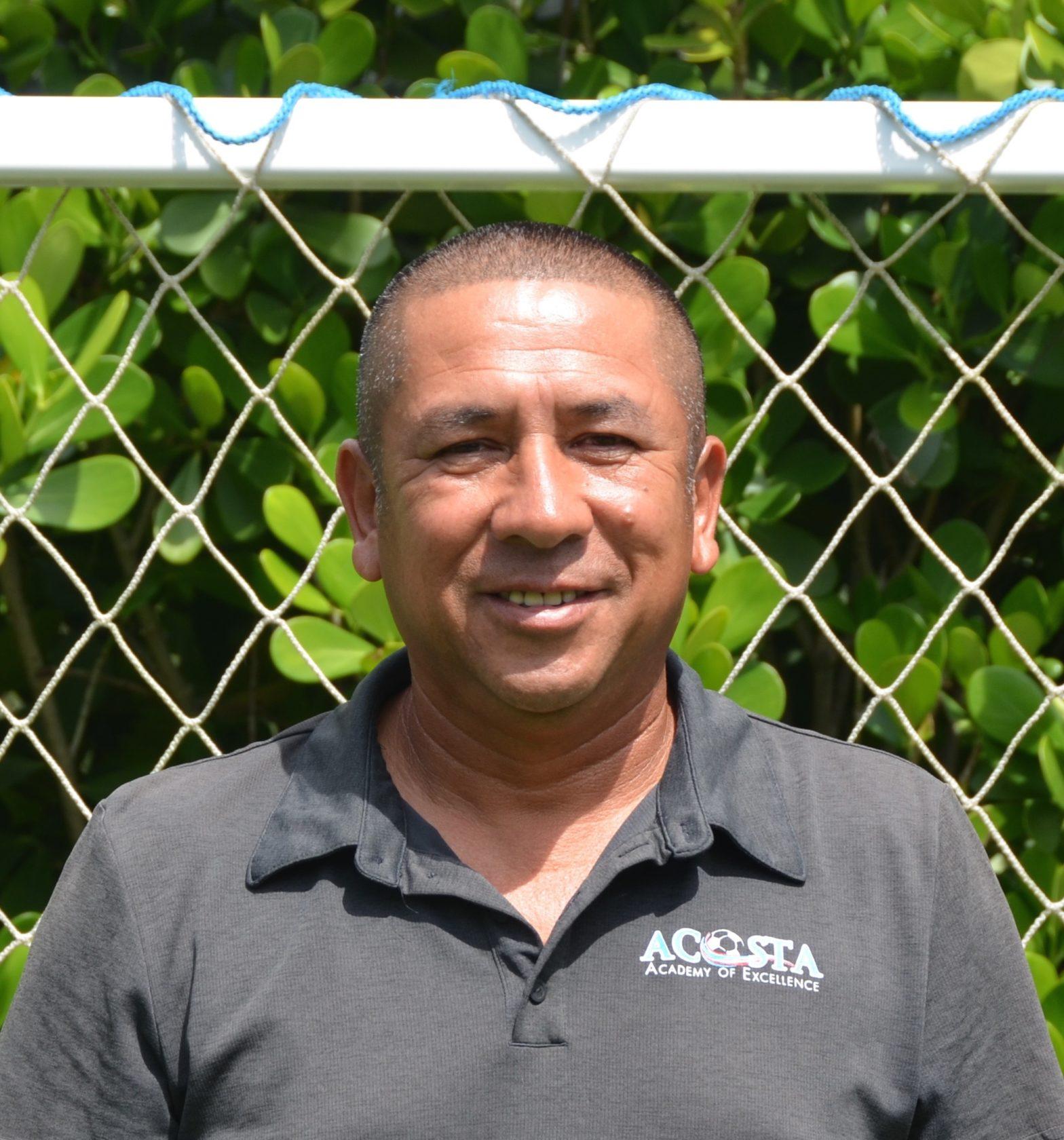 Coach Felix Acosta