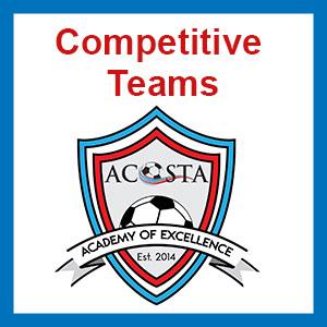 Acosta Academy Competitive Teams